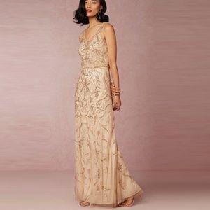 Stunning BHLDN Champagne Gown